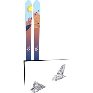 Set: Icelantic Oracle 88 2018 + Marker Squire 11 ID white