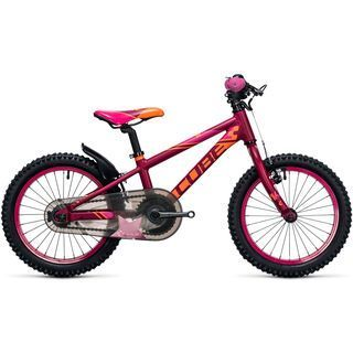 Cube Kid 160 Girl 2017, berry´n´pink - Kinderfahrrad