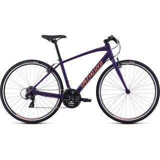 Specialized Women's Sirrus V-Brake 2020, plum purple/acid lava - Fitnessbike