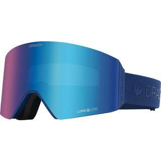 Dragon RVX OTG inkl. WS, navy/Lens: lumalens flash blue - Skibrille
