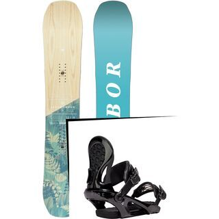 Set: Arbor Swoon Camber 2017 + Ride LXH (1770156S)