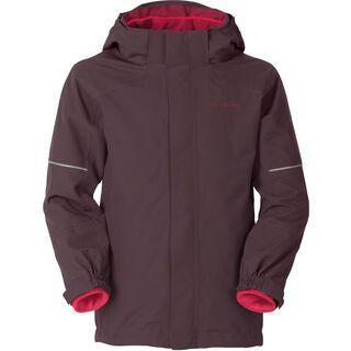 Vaude Kids Zaltana 3in1 Jacket, raisin - Skijacke
