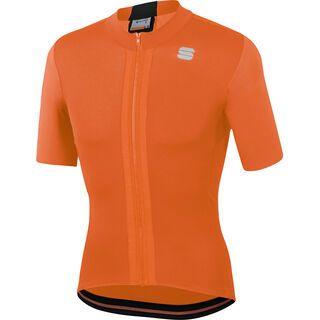 Sportful Strike Short Sleeve Jersey, orange/black - Radtrikot
