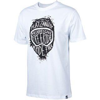 Platzangst Taras, white - T-Shirt