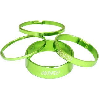 NC-17 1 1/8 Zoll Headset Spacer, green