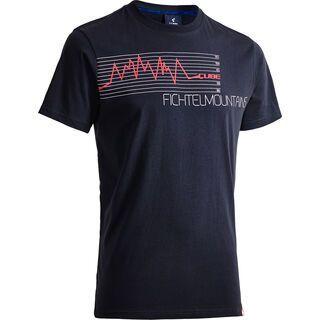Cube T-Shirt Fichtelmountains anthracite´n´flashred