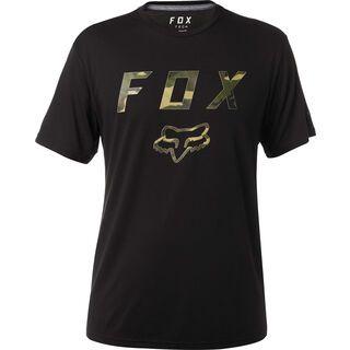 Fox Cyanide Squad SS Tech Tee, black - Radtrikot