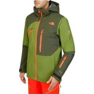 The North Face Mens Free Thinker Jacket, Forest Night Green - Skijacke