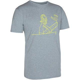 ION Tee SS Straight, grey melange - T-Shirt