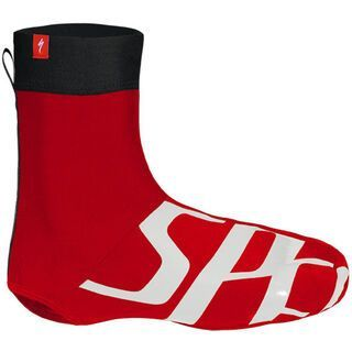 Specialized Wordmark Shoe Cover, Red/White - berschuhe