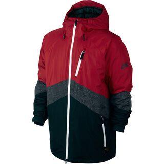 Nike Printed Kampai 2.0 Down, Red/Black/Grey - Jacke