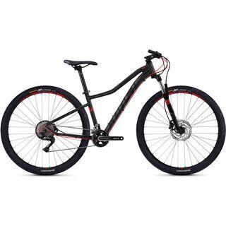 Ghost Lanao 7.9 AL 2018, black/neon red - Mountainbike