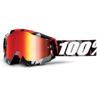 100% Accuri inkl. Wechselscheibe, magemo/Lens mirror red - MX Brille
