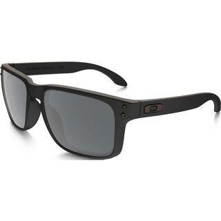 Oakley Holbrook, matte black/black iridium polarized - Sonnenbrille