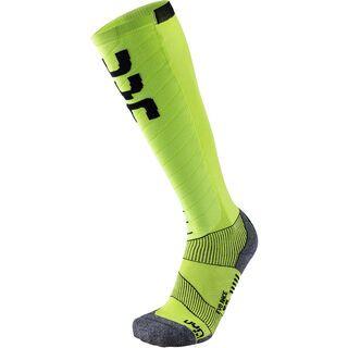 UYN Evo Race Ski Socks green lime/black