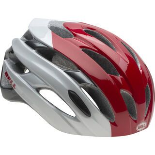 Bell Event, white red superficial - Fahrradhelm