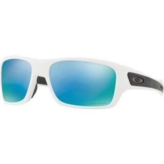Oakley Turbine XS Prizm Deep Water Polarized, polished white - Sonnenbrille