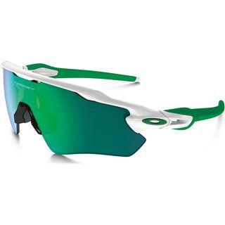 Oakley Radar EV Path, polished white/Lens: jade iridium - Sportbrille