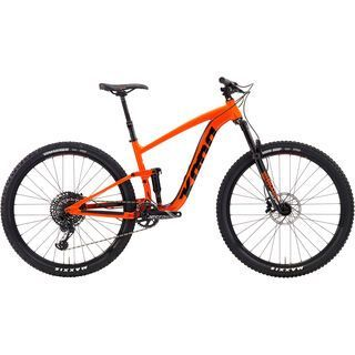 Kona Satori DL 2019, orange w/ black & white - Mountainbike
