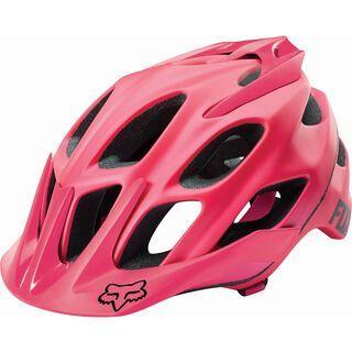 Fox Flux Solids Helmet, pink - Fahrradhelm