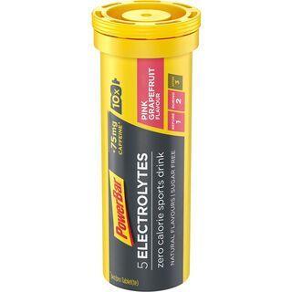 PowerBar 5 Electrolytes - Pink Grapefruit (mit Koffein) - Brausetabletten