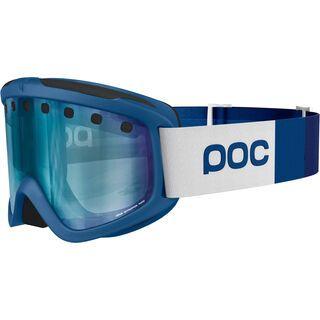 POC Iris Stripes, bromine blue/Lens: bronze blue mirror - Skibrille