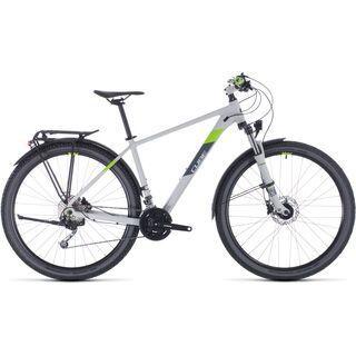 Cube Aim SL Allroad 29 2020, lightgrey´n´green - Mountainbike