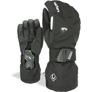 Level Fly, black - Snowboardhandschuhe