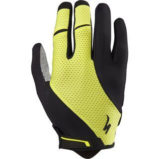 Specialized Body Geometry Gel Long Finger, limon - Fahrradhandschuhe