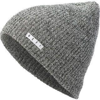 Neff Daily Heather Beanie, grey heather/white - Mütze