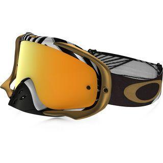 Oakley Crowbar MX, bullet/Lens: 24k iridium - MX Brille