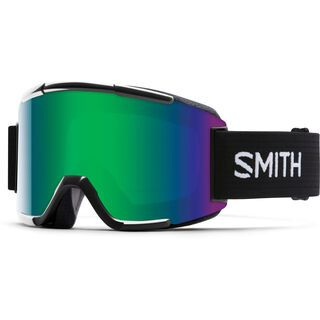 Smith Squad + Spare Lens, black/green sol-x mirror - Skibrille