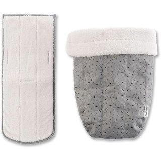 Croozer Winter-Set (für Babysitz ab 2018), stone grey/colored - Zubehör