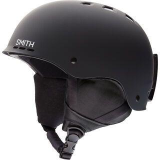 Smith Holt, matte black - Snowboardhelm