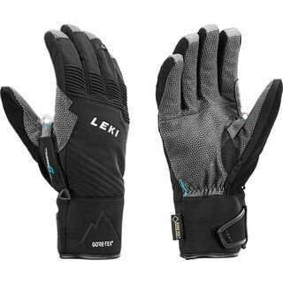 Leki Tour Pro V GTX, schwarz-chrom - Skihandschuhe