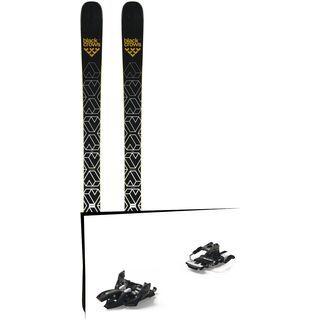 Set: Black Crows Daemon 2019 + Marker Alpinist 9 Long Travel black/titanium