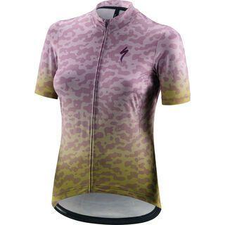 Specialized Women's RBX Comp Terrain Shortsleeve Jersey hyper green/dusty lilac