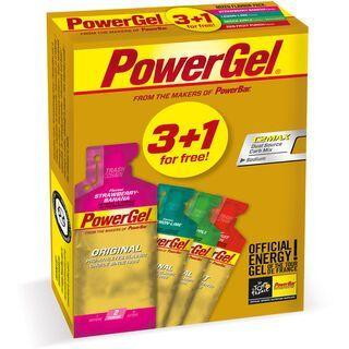 PowerBar PowerGel Multipack (3+1) - Mixed Flavour - Energie Gel