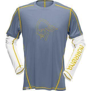 Norrona /29 tech long sleeve Shirt (M), bedrock - Radtrikot