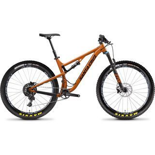 Santa Cruz Tallboy AL R 27.5 Plus 2018, rust/black - Mountainbike