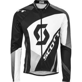 Scott Authentic l/sl Shirt, black - Radtrikot
