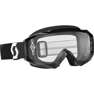 Scott Goggle Hustle MX, black/Lens: clear - MX Brille