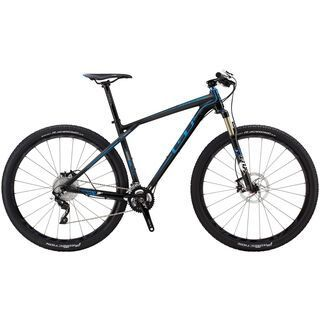 GT Zaskar Carbon 9R Pro 2014, black/blue - Mountainbike