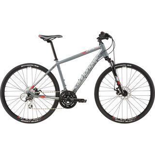 Cannondale Quick CX 4 2016, grey/red - Fitnessbike