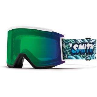 Smith Squad XL inkl. WS, tall boy/Lens: cp everyday green mir - Skibrille