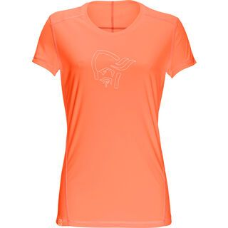 Norrona /29 tech T-Shirt (F), orange alert - Funktionsshirt
