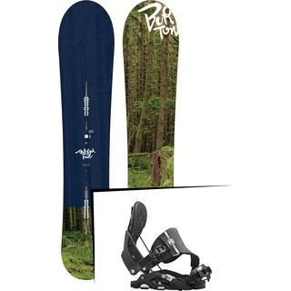 Set: Burton Modified Fish 2017 + Flow Nexus Hybrid (1513166S)