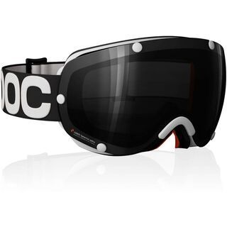 POC Lobes, Black/White/Black - Skibrille