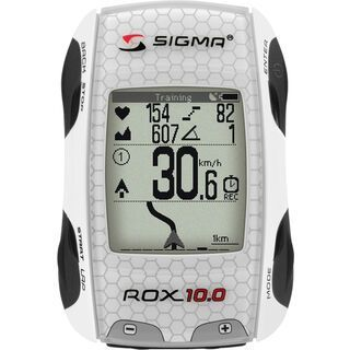 Sigma ROX 10.0 Basic, white - Fahrradcomputer