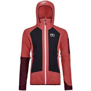 Ortovox Merino Naturtec Light Col Becchei Jacket W, blush - Softshelljacke